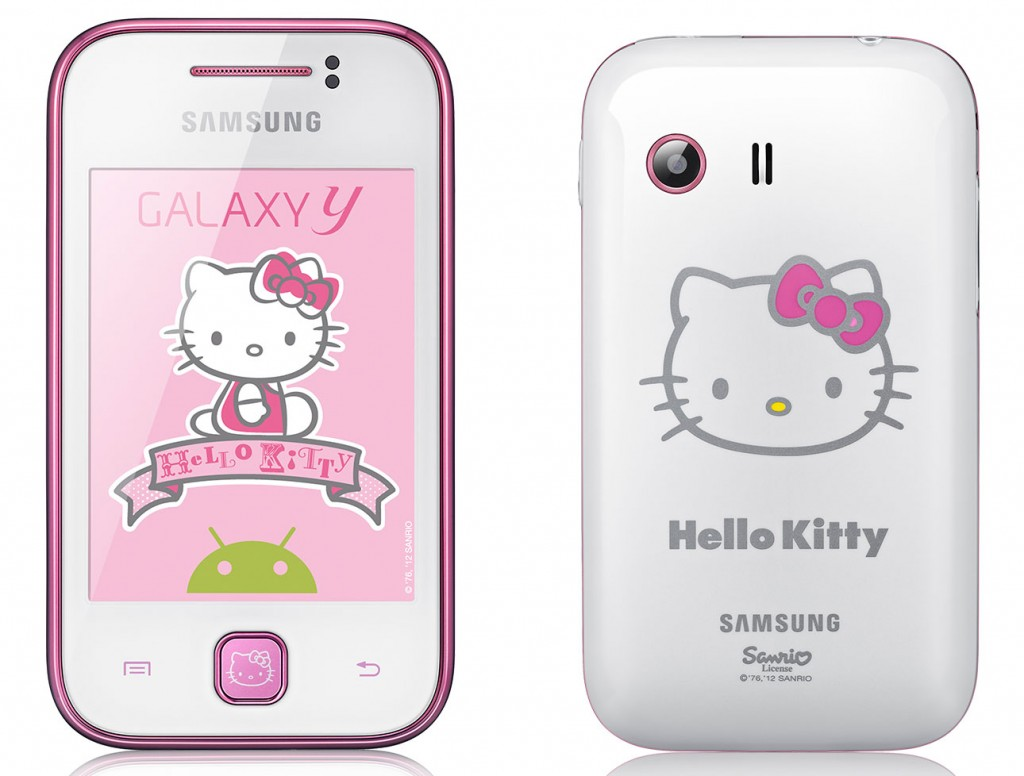 Samsung Galaxy Y S5360 Hello Kitty