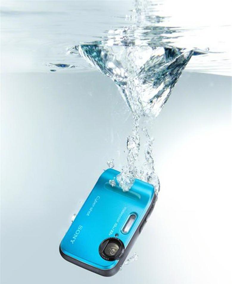 Cyber-shot DSC-TF1 underwater