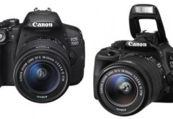 Canon EOS700D & Canon EOS 100D