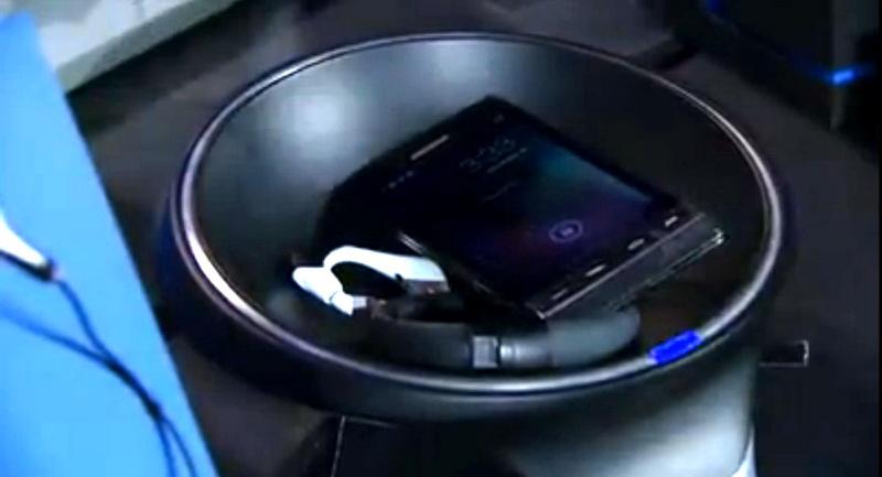 Smart chargiong bowl