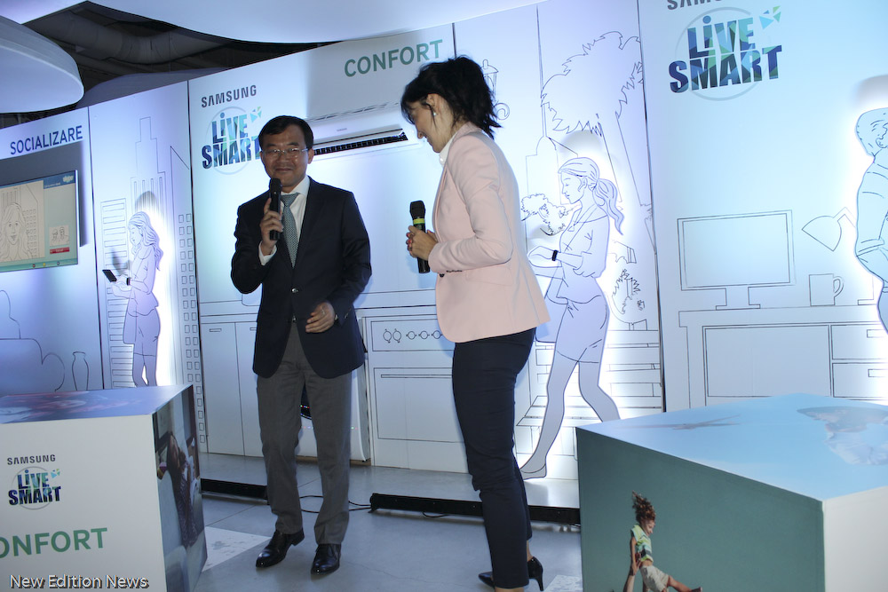 Lansare Samsung LIVE SMART prezentare_