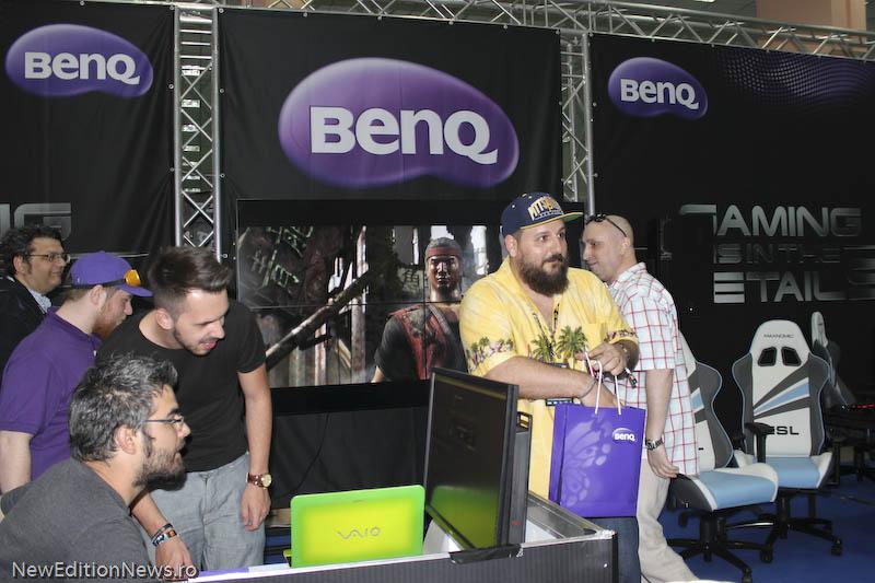 Stand Benq Comic Con 2015