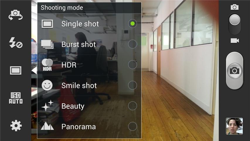 mobile cam-settings