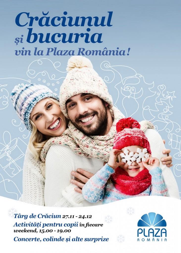 Poster_Craciun Plaza Romania