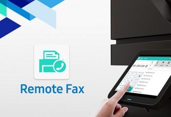 Samsung Remote Fax