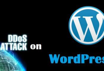 wordpress ddos attack
