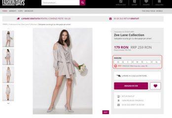 Fashion Days Fit Finder