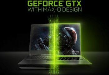 NVIDIA Max-Q laptop