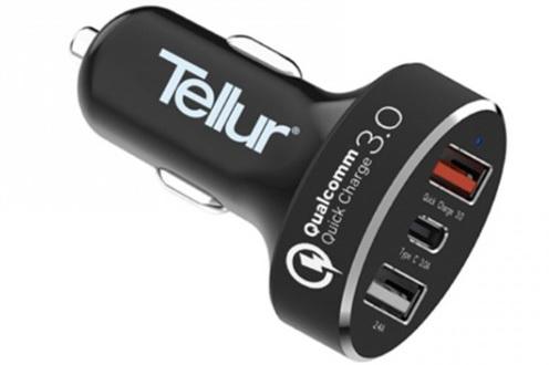 Incarcator de masina Tellur QC3.0