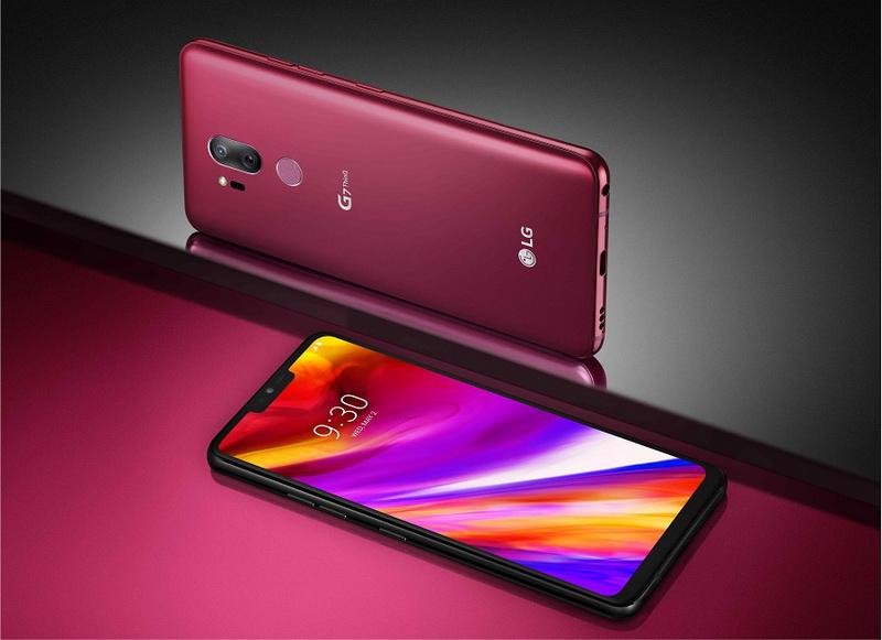 LG G7 ThinQ red