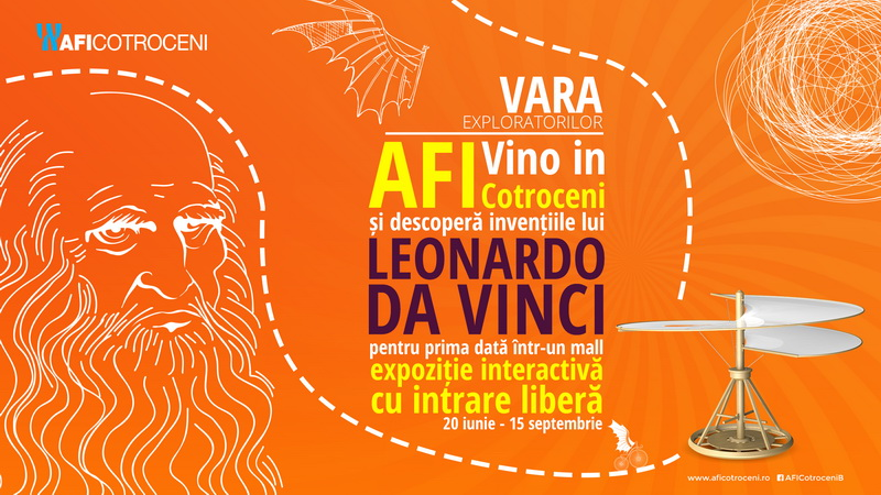 AFI Cotroceni Expozitie daVinci