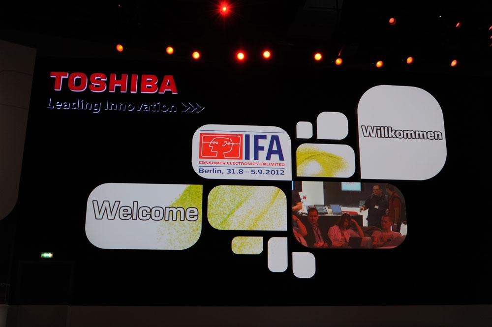 Toshiba la IFA 2012