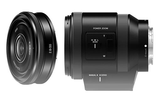 Sony PZ18-200mm F3.5-6.3 OSS si E 20mm F2.8
