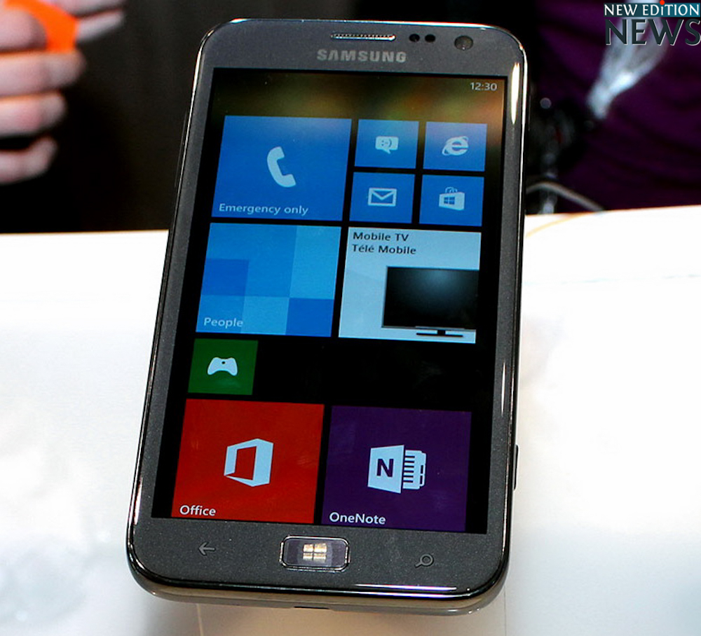 Samsung Ativ S - Mobile World Congress 2013