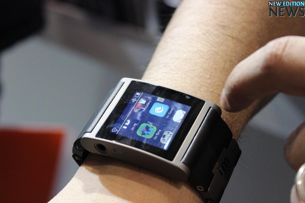 i'mWATCH smart watch - Mobile World Congress