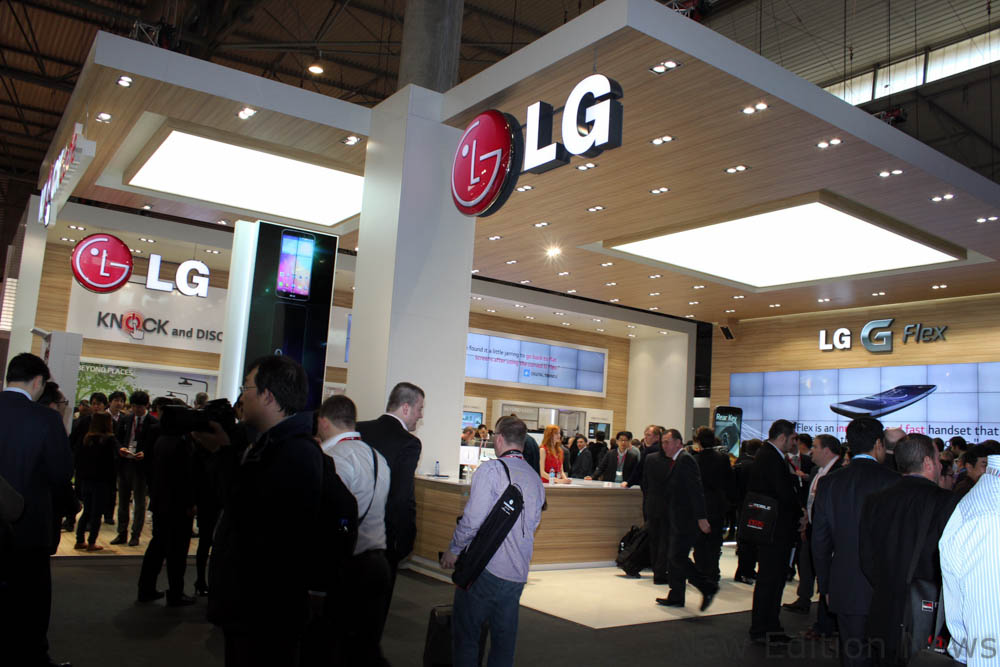 LG stand la MWC 2014