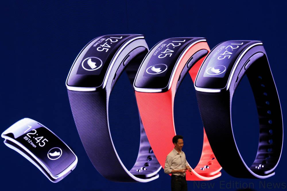 Samsung Gear Fit cu curea interschimbabila