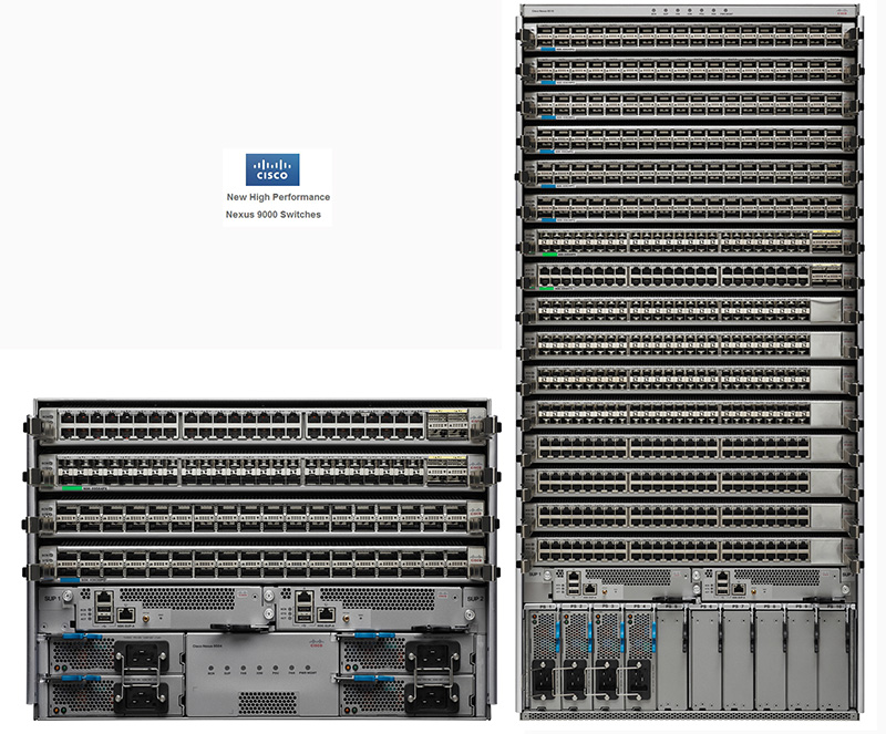 Cisco Nexus 9504 si Nexus 9516