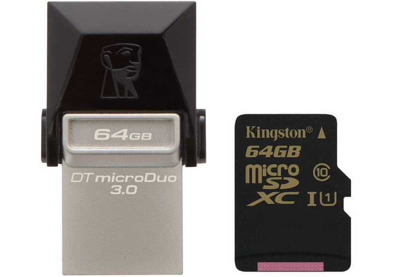 Kigston DT micro & microSD