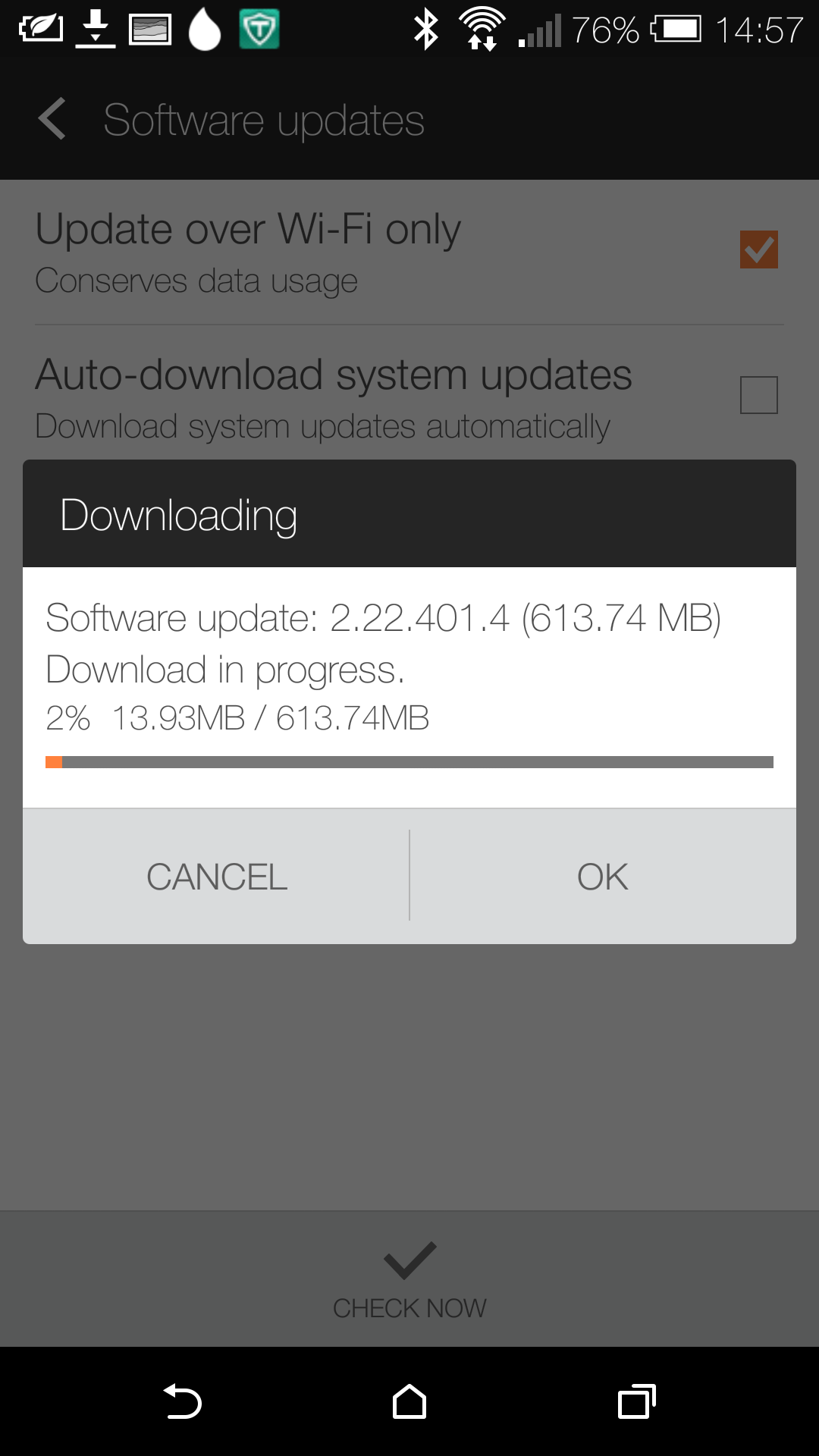 Update Android 4.4.3