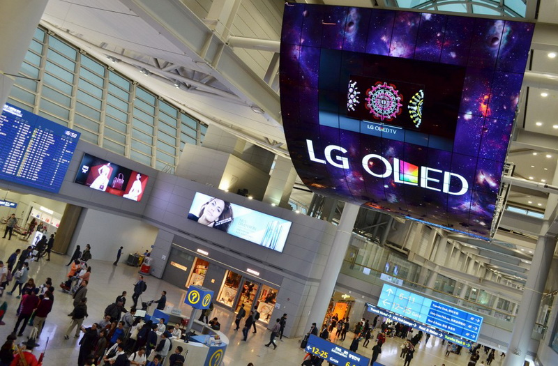 LG BIG OLED