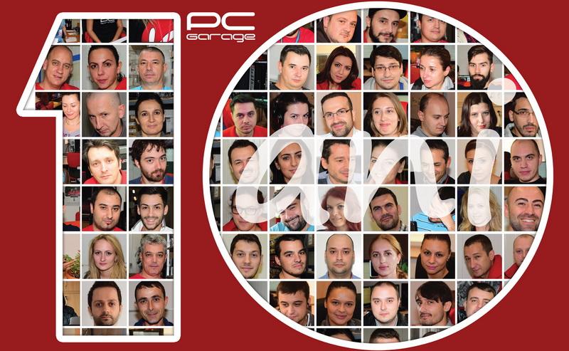 PCGarage 10 ani