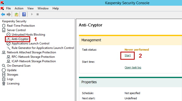 Kaspersky Server