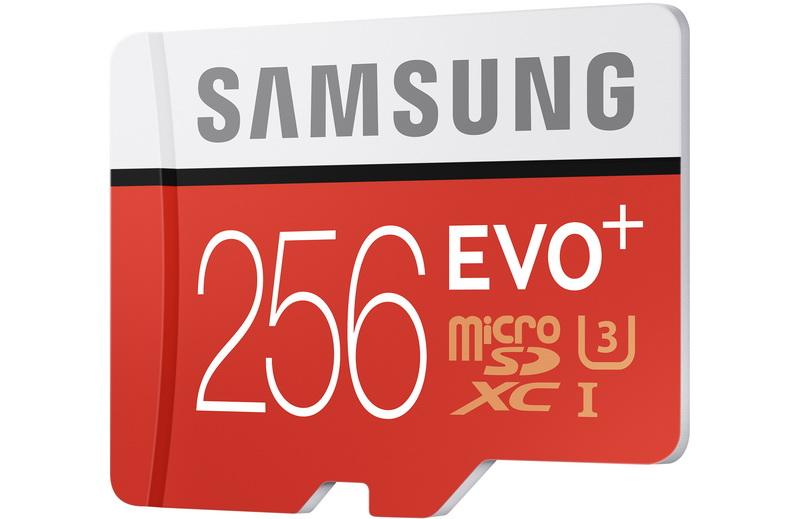 EVO Plus 256GB microSD