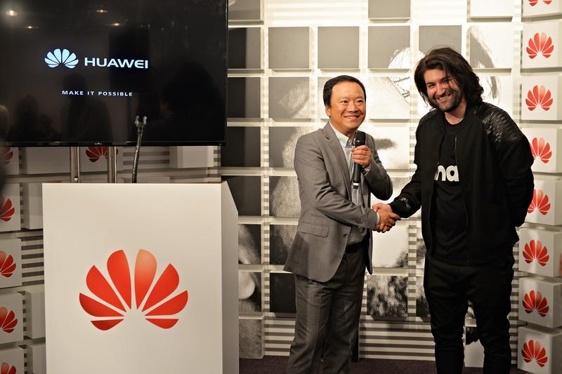 Smiley Brand Ambasador Huawei