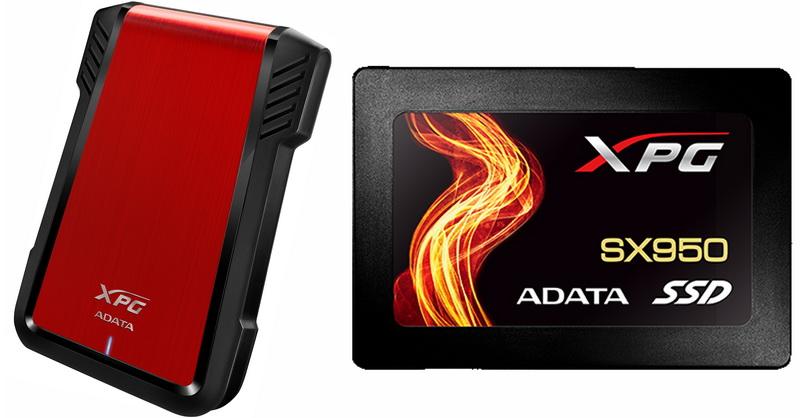 Adata EX500 & SX950