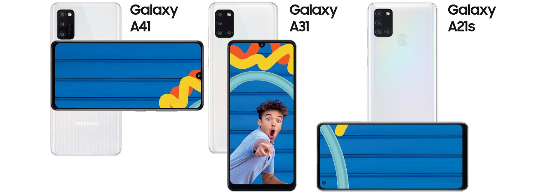seria Galaxy A 2020